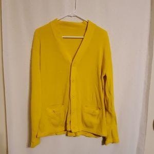 Vintage   Yellow Cardigan